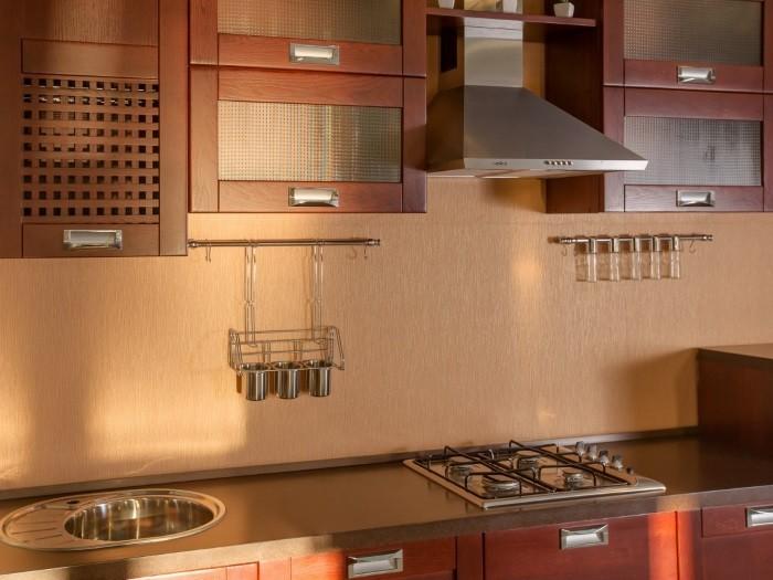 Кухня с рамкой - Модерн вид №2