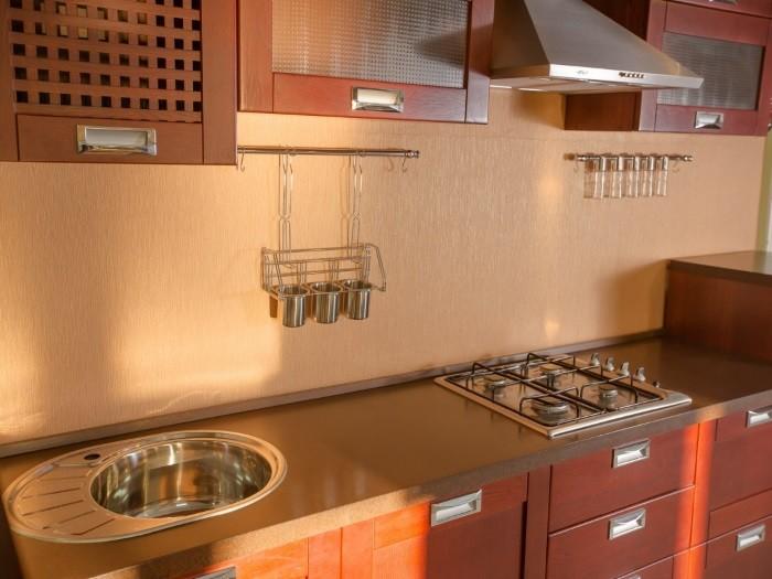 Кухня с рамкой - Модерн вид №3