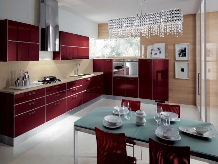 Кухня из пластика ПЛ-7