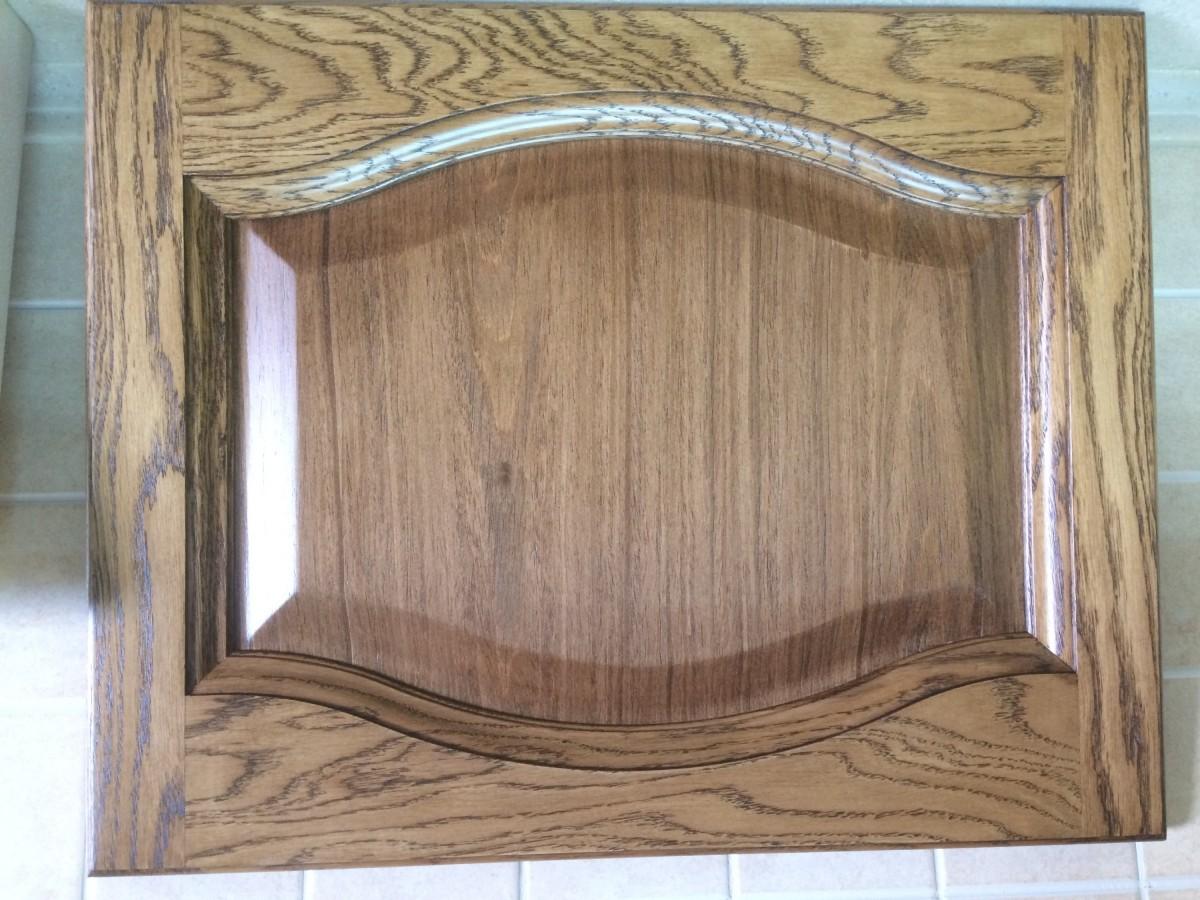 Фасад из массива+шпон, пинотекс